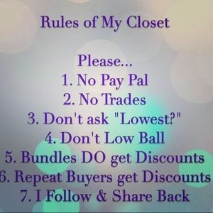 💗Welcome to my closet💗